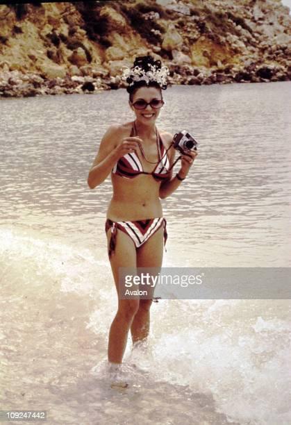 British Actress Joan Collins