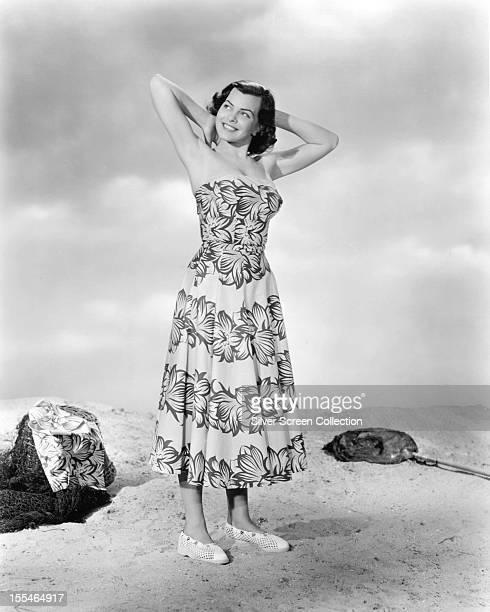British actress Joan Rice , circa 1955.