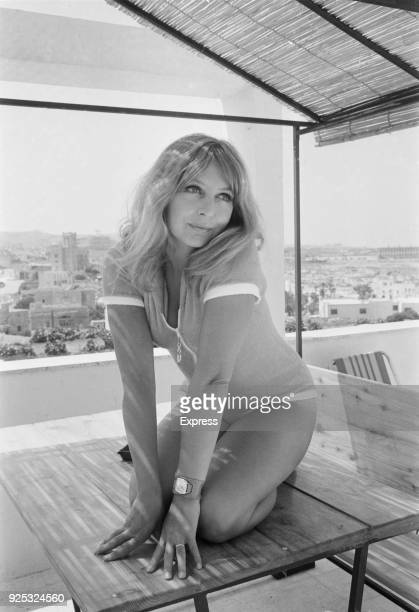 British actress Judy Cornwell Malta 4th May 1968