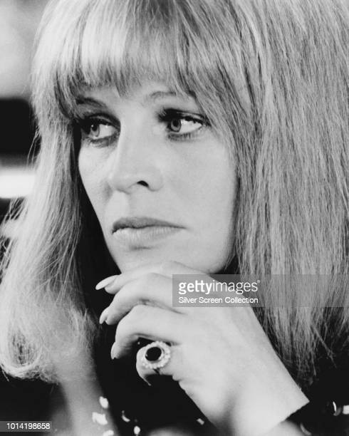 British actress Julie Christie as Jackie in the film 'Shampoo' 1975