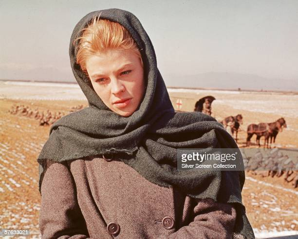 British actress Julie Christie as Lara Antipova in 'Doctor Zhivago' directed by David Lean 1965