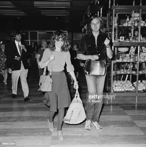 British actress Julie Christie at Heathrow Airport London UK 1st July 1971