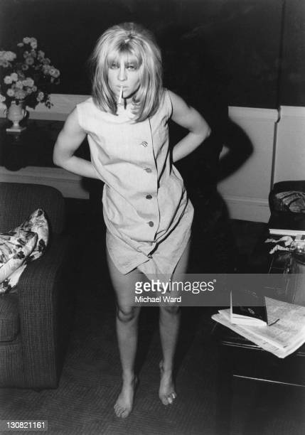 British actress Julie Christie Birmingham 22nd November 1963