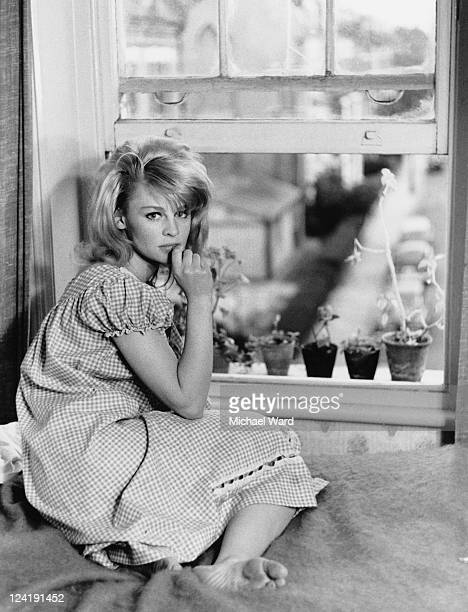 British actress Julie Christie in London 1962