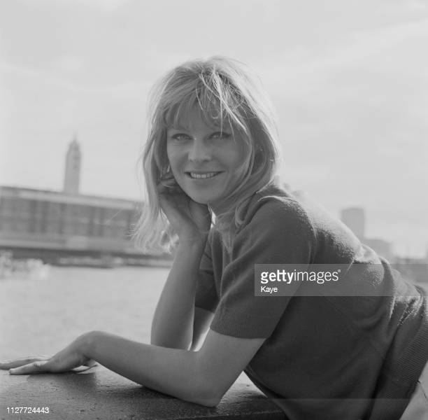 British actress Julie Christie in London UK 10th August 1963
