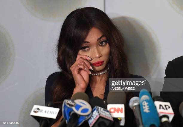 British actress Kadian Noble who has filed a lawsuit against Harvey Weinstein Bob Weinstein and The Weinstein Company LLC accusing the movie producer...