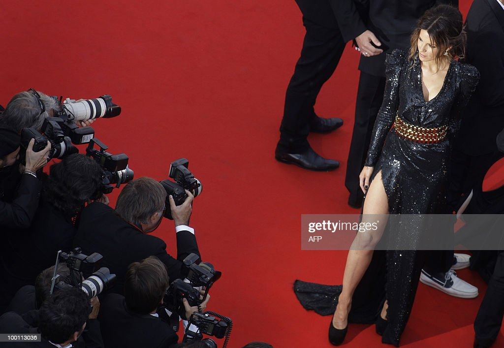 British actress Kate Beckinsale arrives for the screening of 'Biutiful' presented in competition at the 63rd Cannes Film Festival on May 17, 2010 in Cannes. AFP PHOTO / Joel Ryan