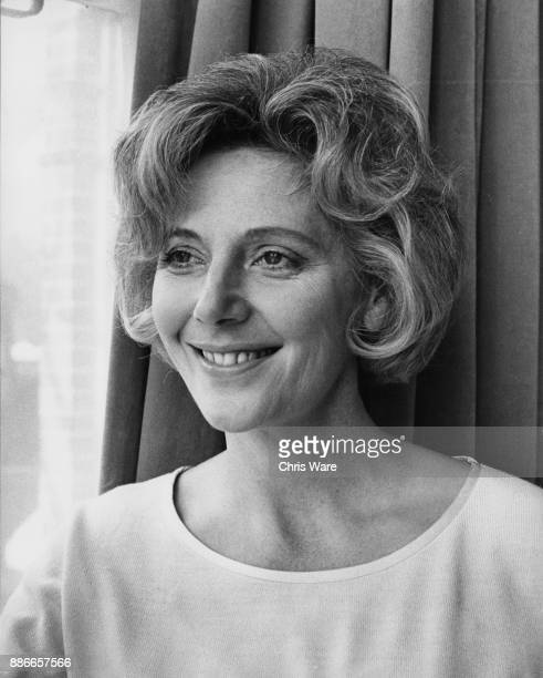 British actress Kathleen Byron February 1967 Star of the 1947 film 'Black Narcissus' she was considering giving up acting after a car accident but...