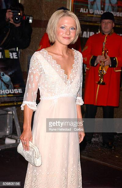 British actress Kellie Bright costar of the movie 'Ali G Indahouse' attends the premiere in London