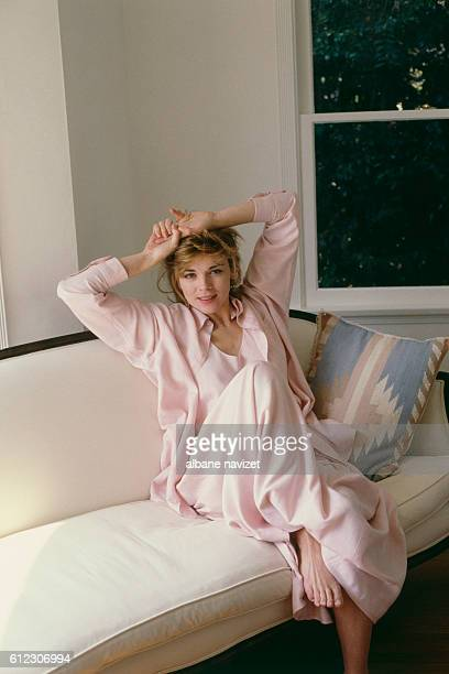 British actress Kim Cattrall