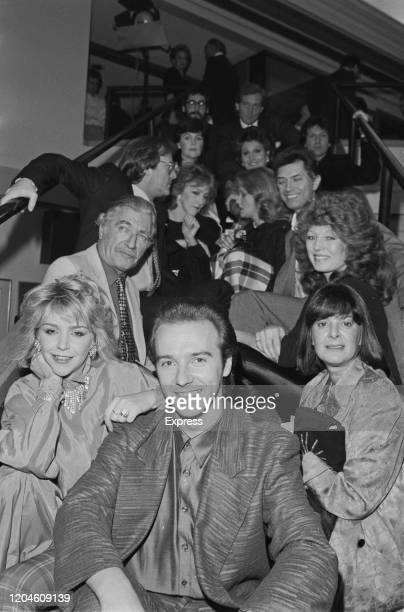 British actress Leslie Ash British singer Midge Ure and British television producer Verity Lambert British actor Nigel Davenport British actress Rula...