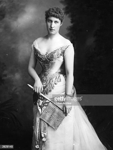 British actress Lillie Langtry as Blanche in 'Ours' Original Publication People Disc HU0208