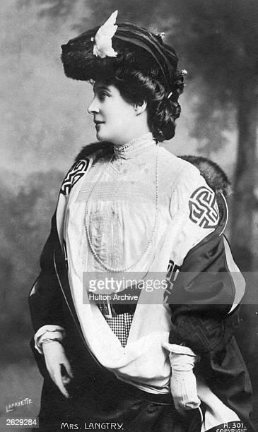 British actress Lillie Langtry Original Publication People Disc HU0200