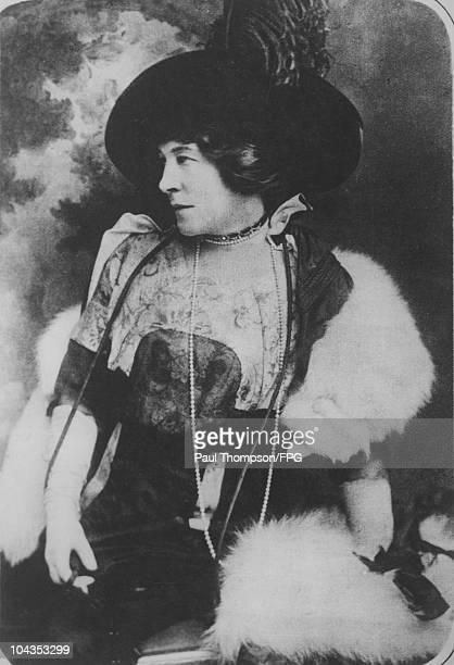 British actress Lillie Langtry the wife of Hugo Gerald de Bathe circa 1900