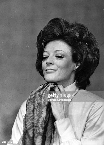 British actress Maggie Smith who has worked extensively on stage and screen