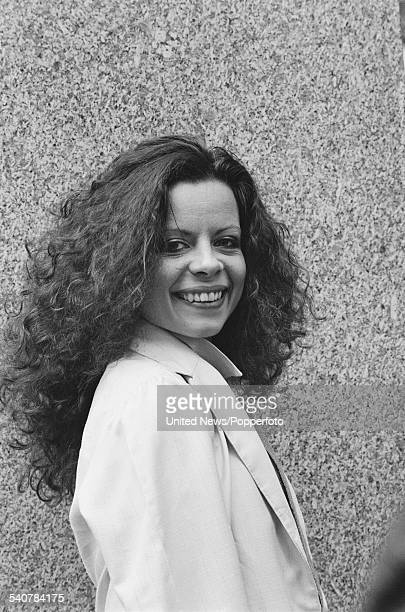 British actress Michelle Newell who appears in character as Cleopatra in the television series 'The Cleopatras' pictured in London on 24th May 1982