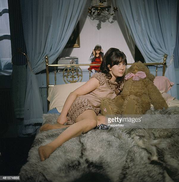 1968 British actress Nerys Hughes pictured in a scene from the television drama series 'The Informer' in 1968