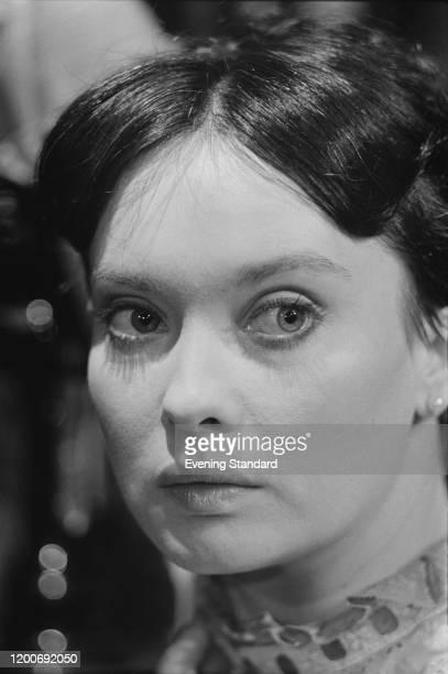 British actress Nicola Pagett, March 1976.