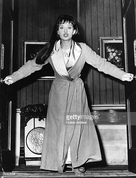 British actress Nicola Pagett.