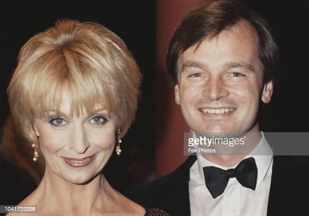 British actress Nyree Dawn Porter and her husband Robin Halstead 1984