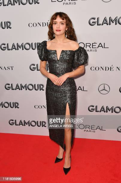 British actress Olivia Cooke attends the 2019 Glamour Women Of The Year Awards at Alice Tully Hall Lincoln Center on November 11 2019 in New York City