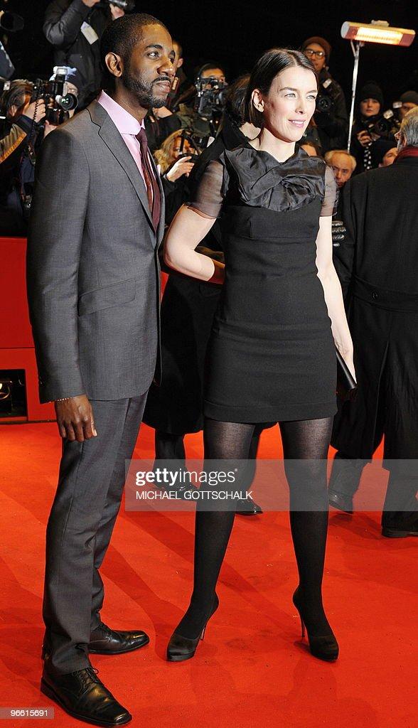 British actress Olivia Williams and US a : News Photo
