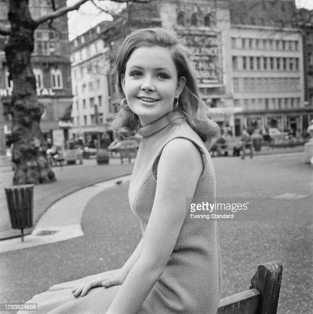 British actress Pippa Steel in London, UK, 26th April 1966.
