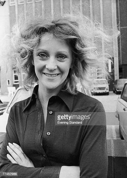 British actress Polly James, the star of British sitcom 'The Liver Birds', 16th January 1971.
