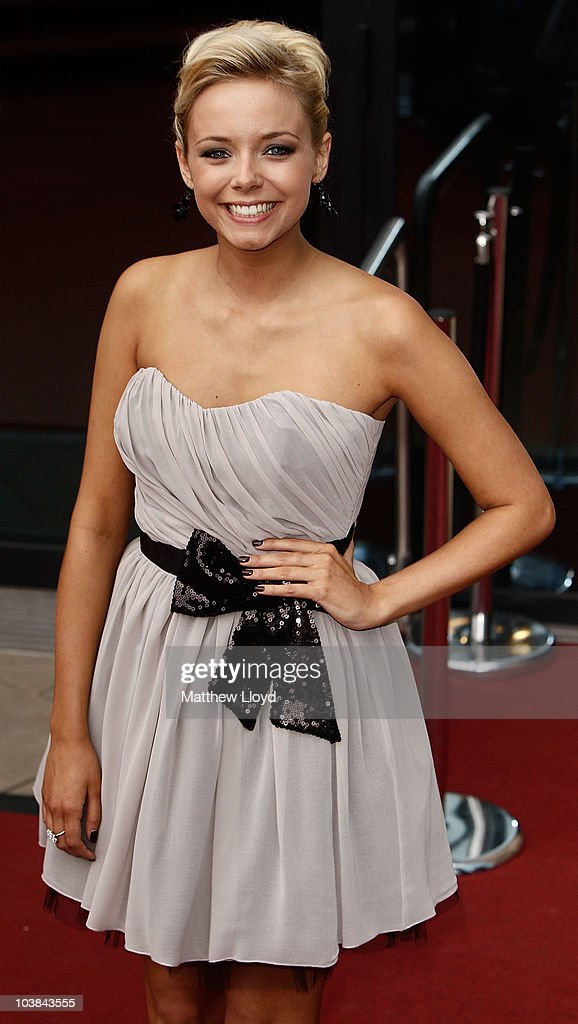 British actress Sacha Parkinson arrives at the National Lottery Awards 2010 held at the Camden Roundhouse on September 4, 2010 in London, England. The annual awards are presented to community members and groups for their work in UK Lottery funded projects.