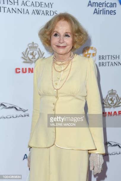 British actress Sarah Miles arrives for the 2018 British Academy Britannia Awards at the Beverly Hilton hotel in Beverly Hills on October 26 2018 The...