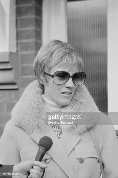 British actress singer and author Julie Andrews during an interview UK 13th April 1977