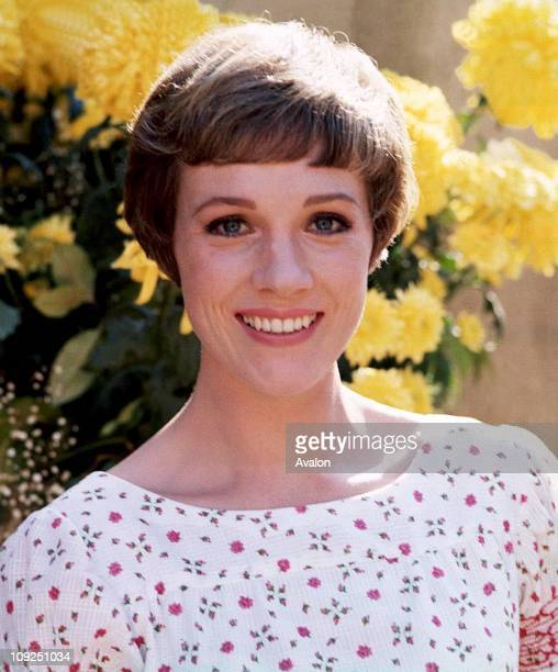 British Actress Singer and Dancer Julie Andrews