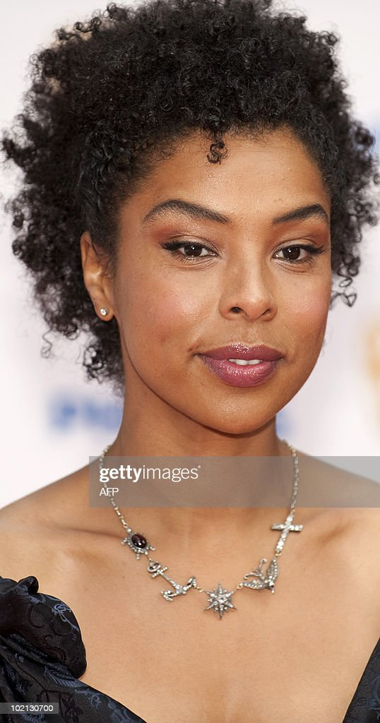 British actress Sophie Okonedo arrives at The Philips British Academy Television Awards held at The Palladium on June 6, 2010 in London, England.