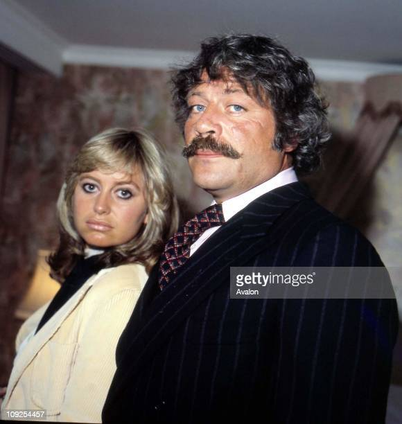 British Actress Susan George with OLIVER REED British Actor