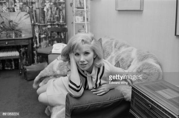 British actress Susan Hampshire UK 17th May 1963