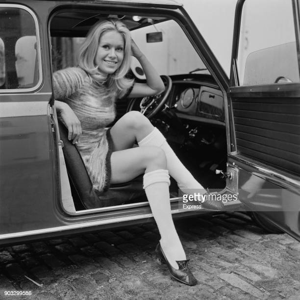 British actress Suzanna Leigh UK 21st October 1968