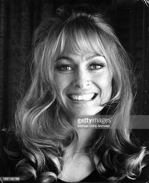 British actress Suzy Kendall poses for a portrait in circa 1971