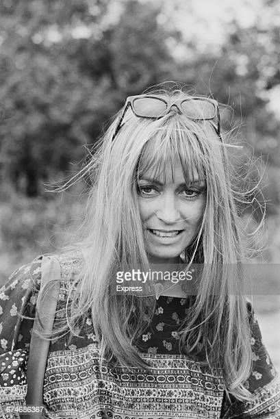 British actress Suzy Kendall UK 28th August 1971
