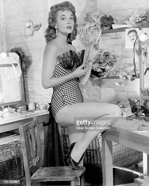 British actress Sylvia Syms circa 1955