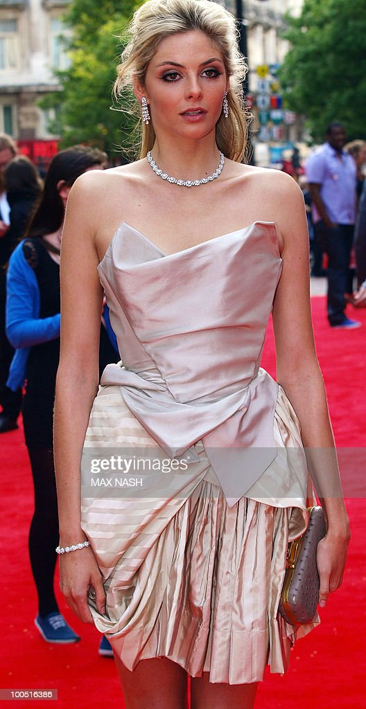 British actress Tamsin Egerton arrives at the World Premiere of her latest film, '4.3.2.1' in London's Leicester Square ony May 25, 2010. AFP Photo/MAX