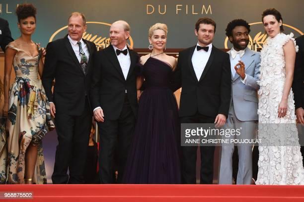 British actress Thandie Newton US actor Woody Harrelson US director Ron Howard British actress Emilia Clarke US actor Alden Ehrenreich US actor...
