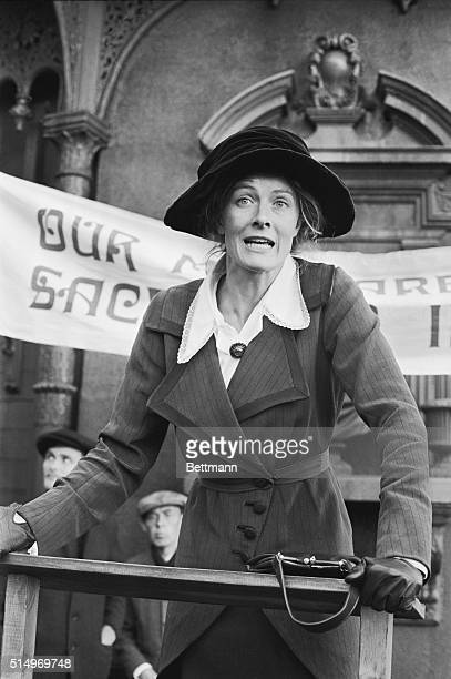 British actress Vanessa Redgrave who in real life has led and attended many protest meetings is currently playing the role of a pacifist in the film...