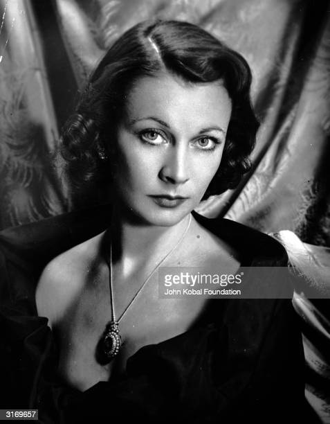 British actress Vivien Leigh most famous for her role as Scarlett O'Hara in the film 'Gone With The Wind'