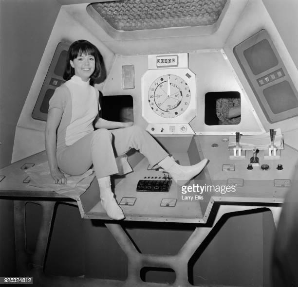 British actress Wendy Padbury London UK 3rd May 1968