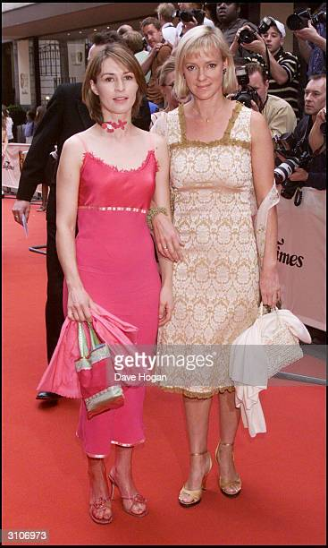 British actresses Helen Baxendale and Hermione Morris attend the BAFTA Television Awards held at the Grosvenor House Hotel on Park Lane on May 14,...