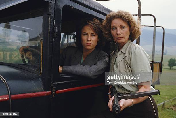 British actresses Jane Snowden and Catherine Schell as British undercover agents in France during World War II in an episode of the British TV drama...