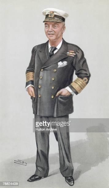 British Admiral John Arbuthnot Fisher 1st Baron Fisher 1902 A cartoon by Spy from Vanity Fair pub 6th November 1902