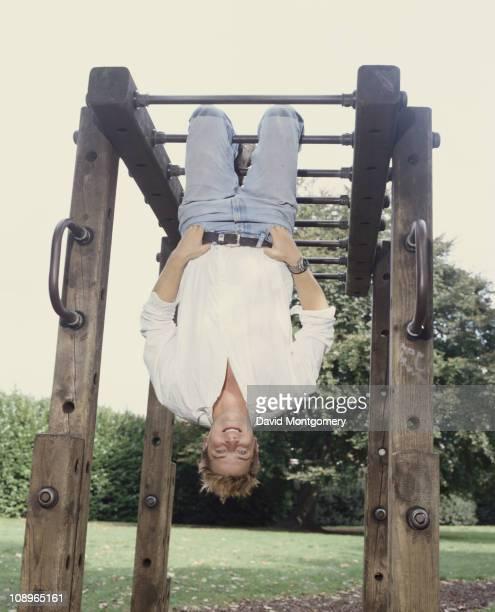 British adventurer Bear Grylls September 1999