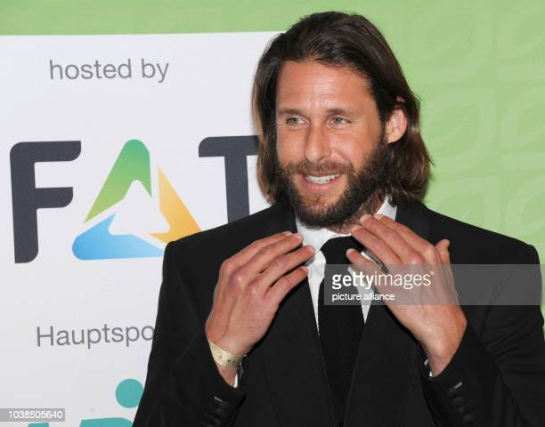 British adventurer ecologist and environmentalist David de Rothschild arrives for the awarding ceremony of the GreenTec Award at the International...