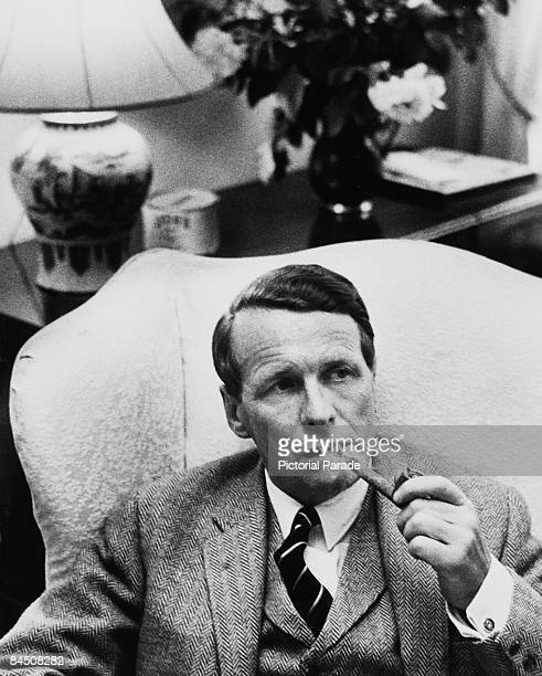British advertising executive David Ogilvy , chairman of advertising agency Ogilvy, Benson and Mather, circa 1963.